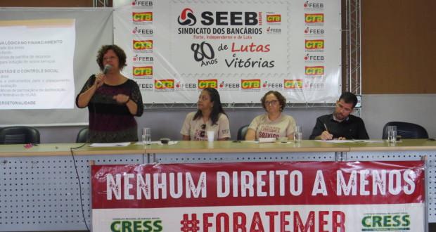Diversidade de atores sociais marca lançamento do Fórum em Defesa das Políticas Públicas e da Democracia