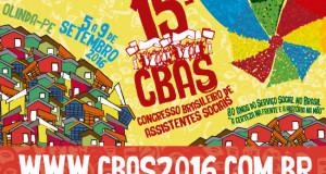 Vagas abertas para Conferência Comemorativa no 15º CBAS