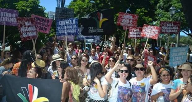 CRESS Sergipe participa de Grito dos Excluídos em Pernambuco