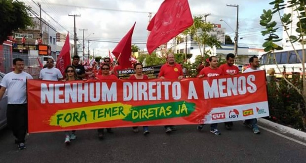 CRESS/SE se soma ao Dia Nacional de Mobilização e Luta