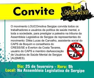 Loucomotivas convite
