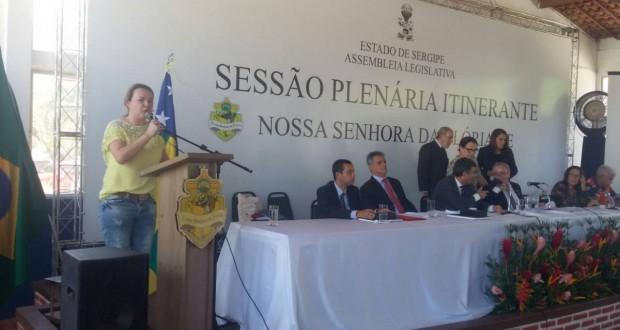 CRESS/SE prestigia sessão itinerante da Assembleia Legislativa em Nossa Senhora da Gl�